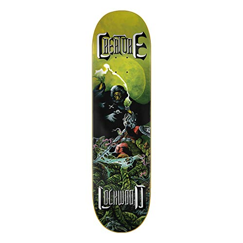 Creature Lockwood Onslaught Skateboard-Brett / Deck, 21 cm