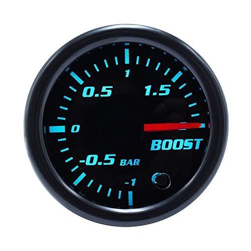 CAIZHIXIANG 52mm indicador de Refuerzo del tacómetro RPM del Metro/Temperatura del Agua/Temperatura del Aceite/de presión de Aceite/tacómetro/Volt/Aire-Combustible/el vacío del Metro del