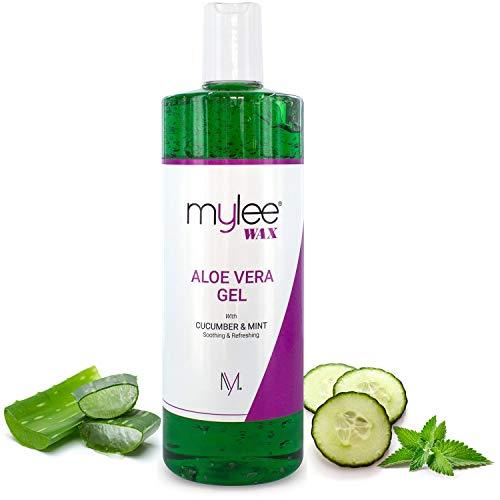 Mylee Pure Gel Calmante Aloe Vera para Después de la Depilación Tratamiento para la Piel Post Depilación 500 ml…