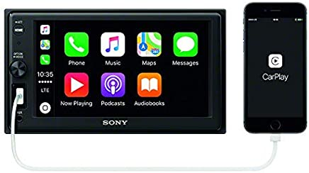 "$248 Get Sony XAVAX1000 6.2"" (15.7 cm) Apple CarPlay Media Receiver with Bluetooth"
