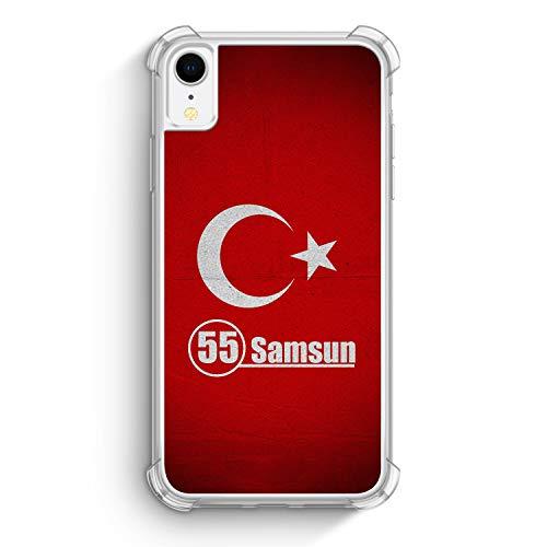 Albanien Silikon Hülle mit Wunschname für Samsung Galaxy S10+ Plus - Albania Albanisch Individuell Wunschtext Personalisiert Fußball Basketball - Handyhülle Cover Case Schale