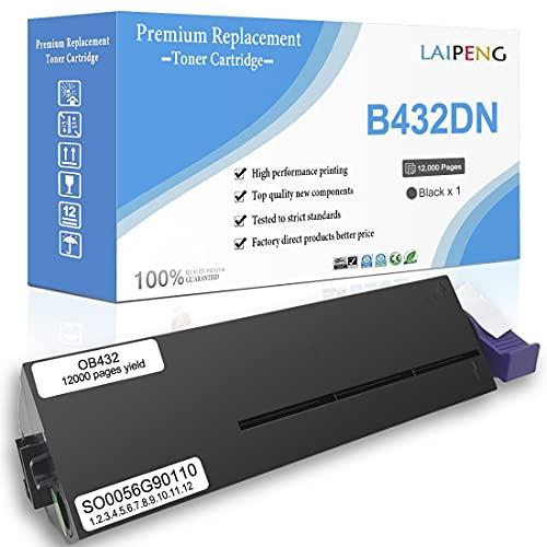 Cartuchos de Tóner Compatibles B412 B432 B512 MB492 MB472 MB562 Super Alta Capacidad 12000 Páginas para Oki B412dn B432dn B512dn MB492dn MB472w MB562dnw Impresoras Láser