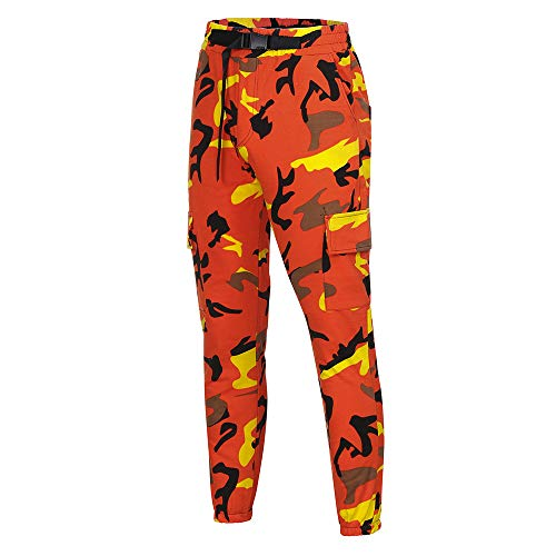Great Price! Beach pants,EOWEO Men Camouflage Pocket Overalls Casual Pocket Sport Work Sashes Trouse...