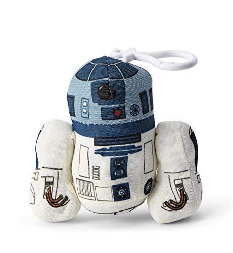 Funko 00243J Star Wars 4 inch Talking R2-D2 Plush with Plastic Clip