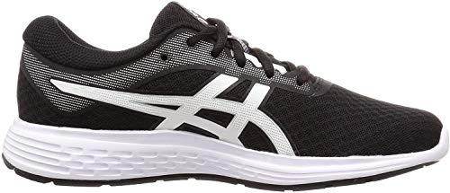 Asics Patriot 11, Running Shoe Womens, Black/White, 42 EU