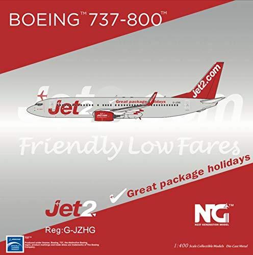 NG Model NGM58033 1:400 Jet2 737-800(W) Reg #G-JZHG