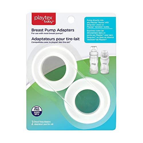 playtex breast pumps Playtex Baby Breast Pump Adapters, 2 Count