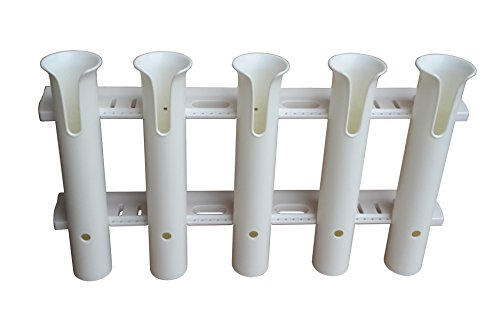 Brocraft Tackle Rack Fishing Rod Holder 5-Rod White / 5 Rod Rack