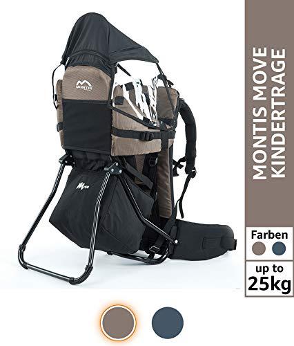 MONTIS Move, Mochila portabebés, hasta 25 kg, 2180 g, MARRÓN