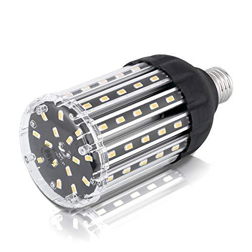E26 LED Corn Light Bulb, Wenscha 25W Corn Bulbs Soft Warm White 3000K Super Bright 2500 Lumen 200 Watt Halogen Equivalent, Aluminum Corn Light for Indoor Outdoor Large Area Garage Porch Backyard