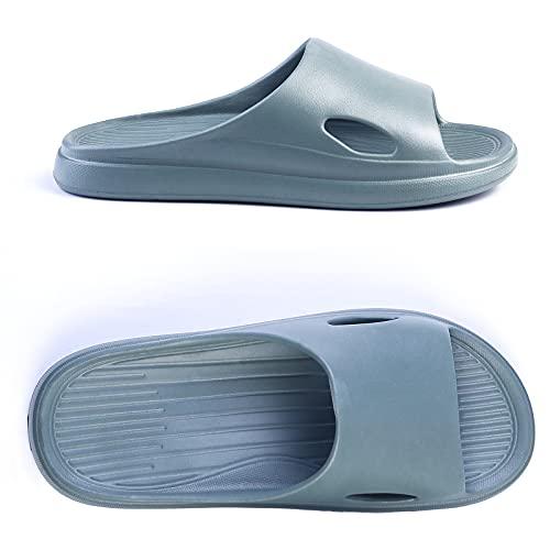 R-ISLAND Chanclas de mujer para la playa y la piscina, zapatillas de verano, sandalias de punta abierta