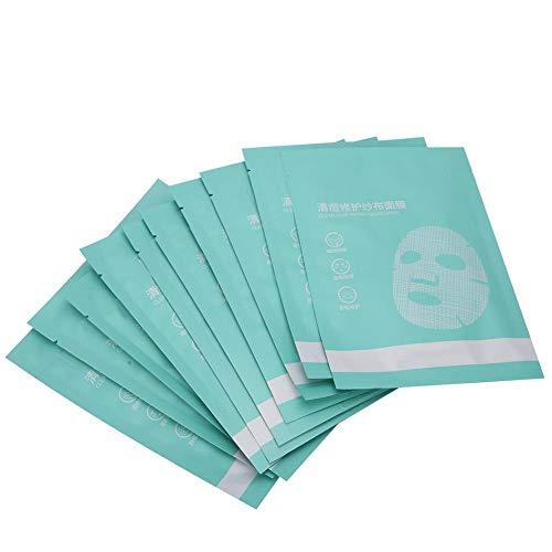 Masque anti-acné, 10 pcs 25 ml Masque anti-acné Apaisant Réparateur Contrôle de l'huile Masque hydratant pour le visage