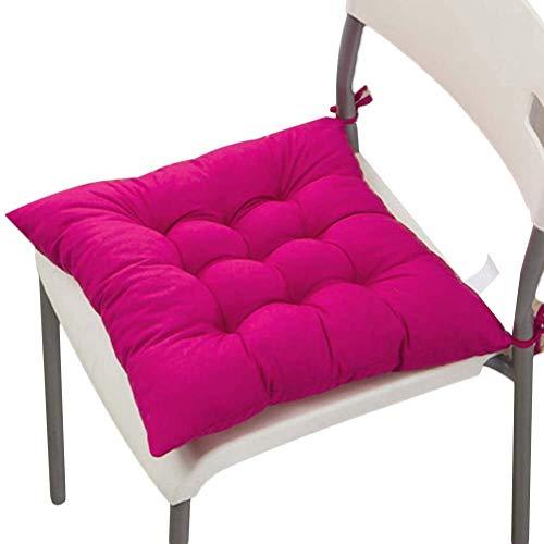 2er Set Stuhlkissen Sitzkissen Indoor & Outdoor dicke weiche Sitzkissen für Stühle & Gartenmöbel
