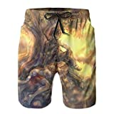 XCNGG Pantalones Cortos de Playa Anime Sword Art Online Asuna Men's Swim Trunks Quick Dry Beach Shorts Summer Swimming Pants