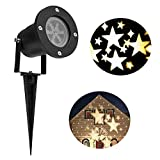 Lightess Christmas Projector Light Star Moving Holiday...