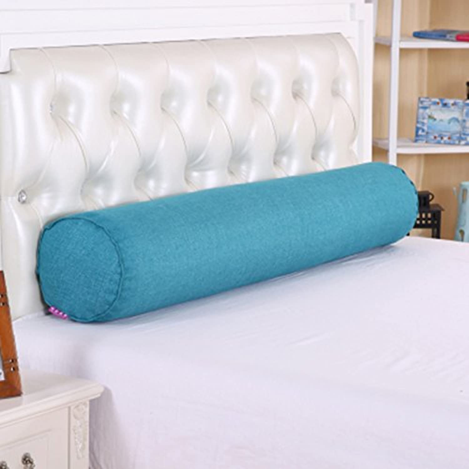 LAAN Cotton Long Pillow, Large Cylindrical Bed with Sleeping Cushion Pillow Detachable Boyfriend Candy Pillow