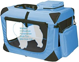 X-SMALL - BLUE - PET GEAR Generation II Soft Crate