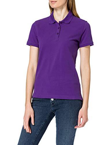 CliQue Damen Regular Fit Poloshirt,Purple (Bright Lilac), 38 EU (Herstellergröße:Medium)