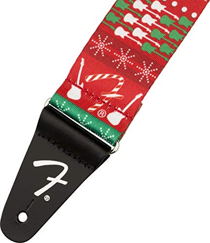 Fender Ugly Christmas Sweater, Snowman Guitar Strap (0990662020)