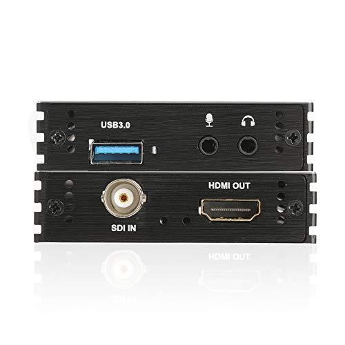 Y&H Videoaufnahmekarte 1080P 60FPS SDI auf USB 3.0 Videoaufzeichnung Live-Streaming für SDI-Domekamera, medizinisches HD-Endoskop, medizinische Bildgebung, optischer SDI-Transceiver, SDI-DVR