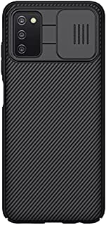 جراب لهاتف Samsung Galaxy A03s/A037G، جراب CamShield Pro Series مع غطاء كاميرا منزلق جراب واقٍ أنيق