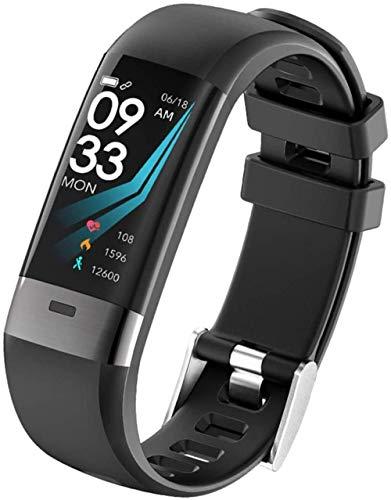 Pulsera multifuncional ECG para presión arterial y frecuencia cardíaca, reloj deportivo inteligente con carga USB para correr, caminar y montar