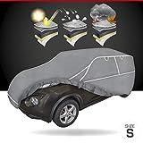 Walser Telone antigrandine per Auto Hybrid UV Protect Impermeabile e Traspirante y Resistente ai Raggi UV Garage antigrandine per Una Protezione antigrandine ottimale (SUV, S)