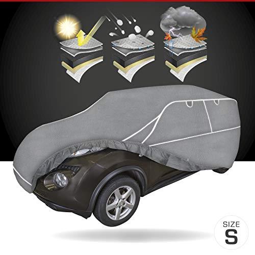 Walser Telone antigrandine per Auto Hybrid UV Protect SUV Impermeabile e Traspirante y Resistente ai Raggi UV Garage antigrandine per Una Protezione antigrandine ottimale, Dimensione: S 30959