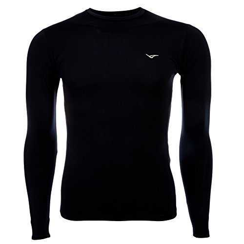 Legea Baselayer Shirt fonctionnel Maglia tempête - Marine, Polyester, XL