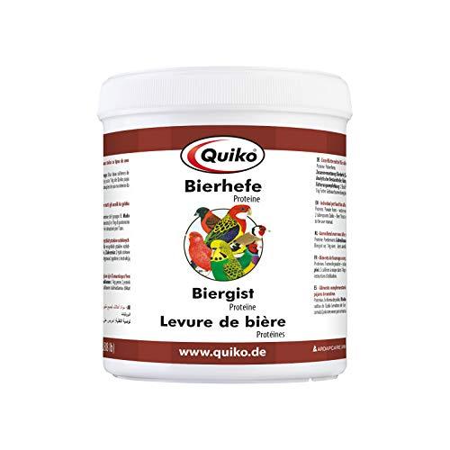 Quiko Cerveza Levadura Especial–Proteínas para Todos los Tipos de Adorno de pájaro (3Unidades, X 400g)