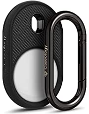 Caseology Vault Cover Compatibile con Airtag - Matte Black