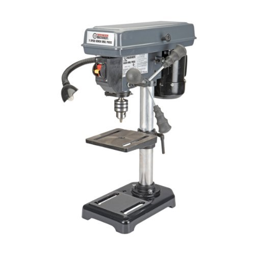 Best Review Of 5 Speed - 8 Bench Mount Drill Press by HF Tools
