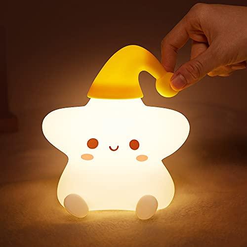 Night Light for Kids, Baby Night Light Lamp Kids Night Lights for Kids Room Star Girls Night Light,...
