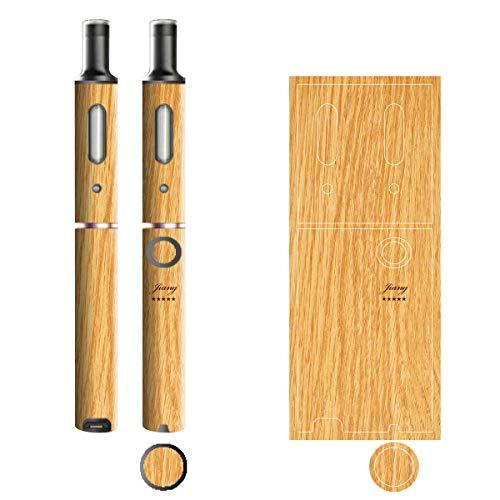 電子たばこ タバコ 煙草 喫煙具 専用スキンシール 対応機種 プルームテックプラスシール Ploom Tech Plus シール 木目調デザインシリーズ 01ナチュラル 06-pt08-0301