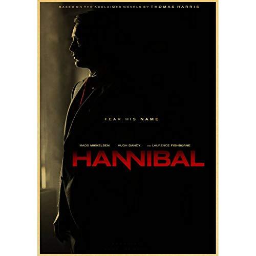 HYYDHD Wandaufkleber Vintage Hannibal Hugh Tanz Horror Thriller Poster Wohnkultur, 42X30Cm