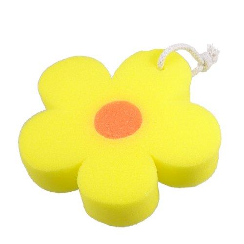 Sourcingmap Salle de Bains Orange en Forme de Fleur du Corps Massage Baignoire Bain Nettoyant pour Laver Une éponge