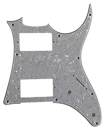 Golpeador de guitarra personalizado para MIJ Ibanez RG X20 estilo (4 capas de perla blanca)