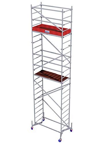Krause 2. Aufstockung für ClimTec Grundgerüst Fahrgerüst Alu