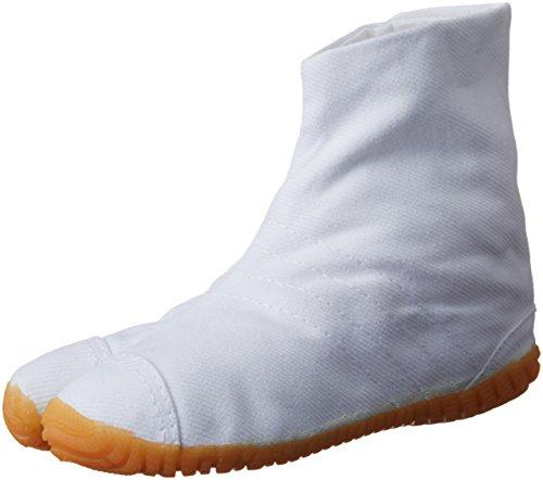 [マルゴ] 地下足袋 マジック かかとクッション入り こども祭りジョグ キッズ 白 14cm