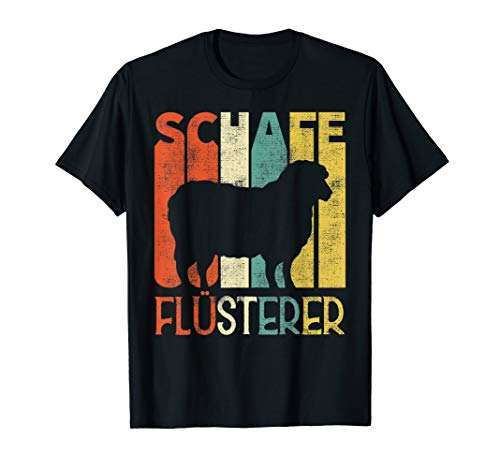 Schafe Flüsterer Lustiges Landwirt Bauer Schaf Geschenk T-Shirt