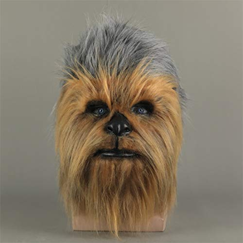 insp YK 2020 Latest Chewbacca Headgear mask Star Wars Cosplay Animal Halloween Film and Television Show live Props Film and Television Game Dress up