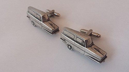 RELIANT REGAL Van 3 Wheeler 3D Boutons de manchette fabriqué à partir de fin anglais en étain
