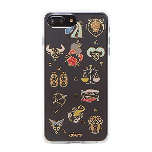 Sonix, Zodiac Astrology Cell Phone Case [Military Drop Test Certified] Protective Clear Case for Apple iPhone 6 Plus, iPhone 7 Plus, iPhone 8 Plus