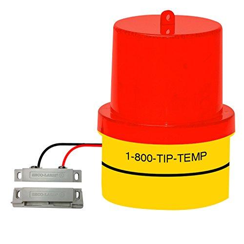 Door Ajar Warning Light: Door Ajar, Open Door, Freezer Door, Warehouse Door or Window Warning Signal Light Battery Operated With 20 Ft. Extension Wire, Magnetic Base and FREE Batteries