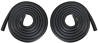T-Foot Door Seals Rubber Weatherstrip Pair Set for 73-79 Ford Bronco F100 F150 F250 F350