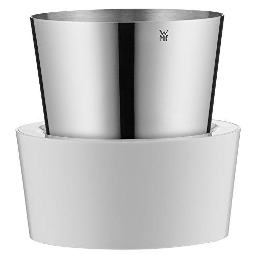 WMF Gourmet Kräutertopf mit Bewässerungssystem, Kräutergarten für die Küche, 12x 12,5x 12,5 cm, für frische Küchenkräuter, weiß