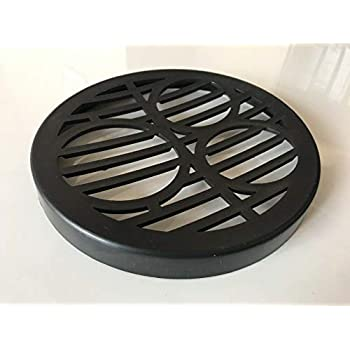 Grate 185mm Square Steel Gully Grid Strong Like cast Iron Metal Drain Cover