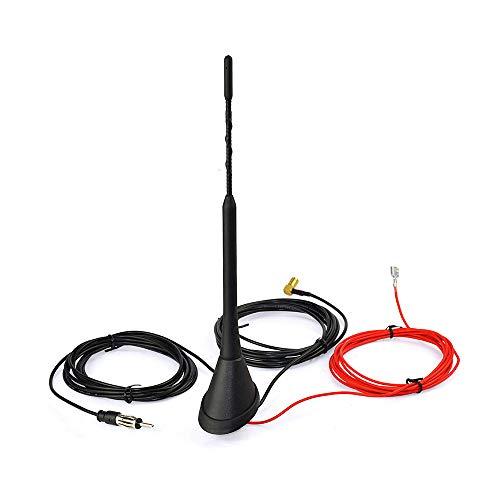 Antena amplificadora incorporada de radio universal para techo de coche DAB DAB...