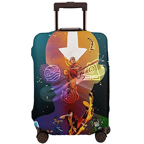 Anime Avatar The Last Airbender - Funda protectora para equipaje de viaje con cremallera lavable