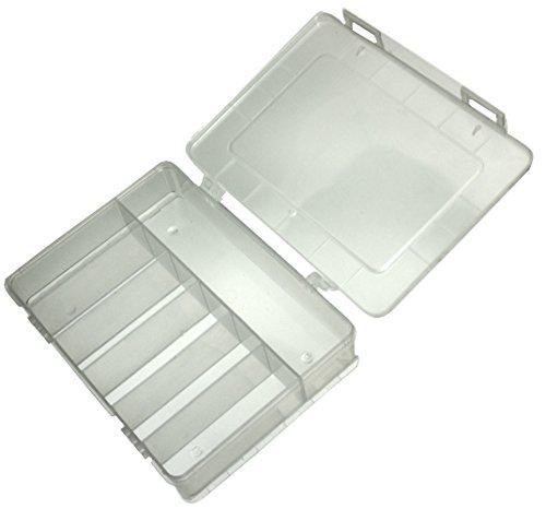 Preisvergleich Produktbild Aerzetix: Transparenter Box Organizer 180x149x40mm mit 7 Kunststofffächern C17606
